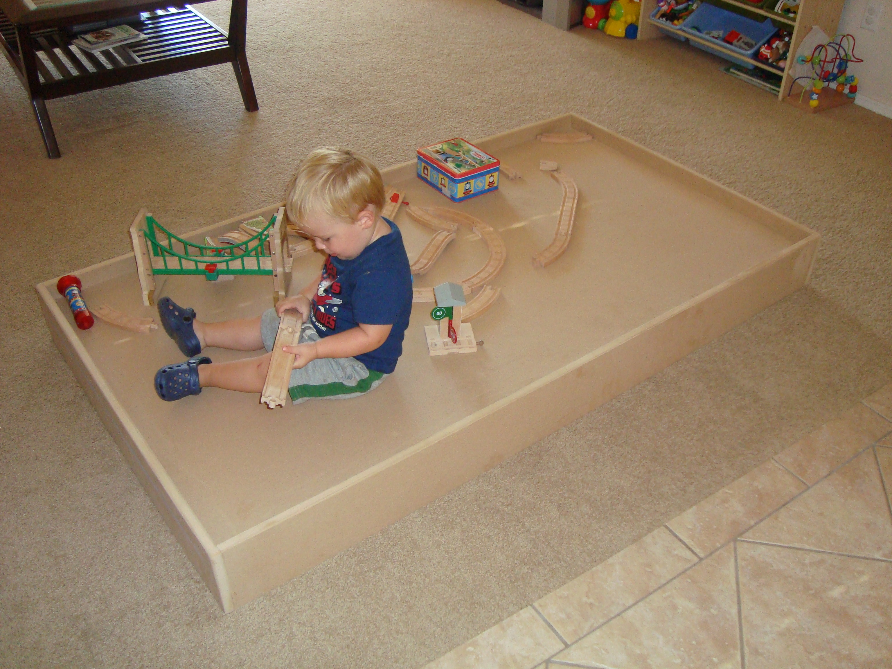 Ethan's Train Table – Stage 1 « Copes